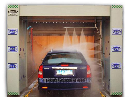 Máy rửa xe công nghệ cao mang hiệu quả vượt trội