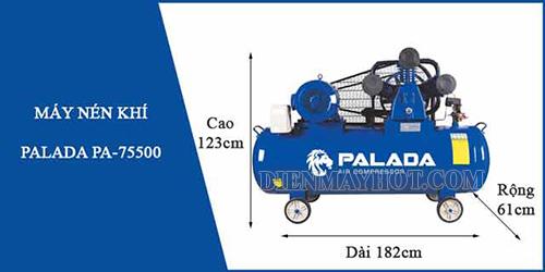 Máy nén khi của thương hiệu Palada rất được người dùng ưa chuộng