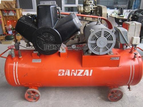Máy nén khí Banzai được xuất xứ từ Nhật Bản và được ưa chuộng