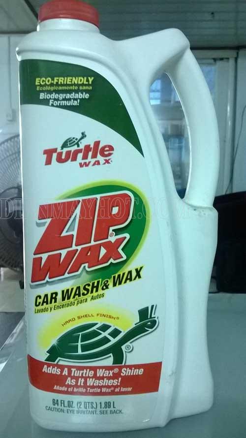 Nước rửa xe zip wax có nhiều ưu điểm và công dụng