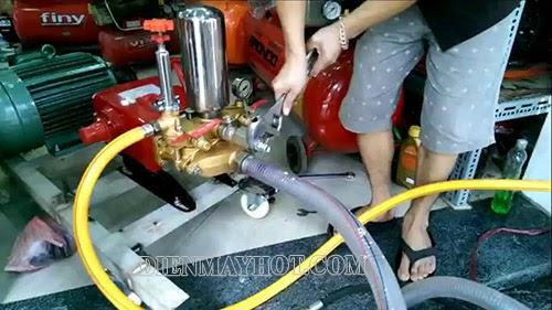 máy rửa xe bị mất áp
